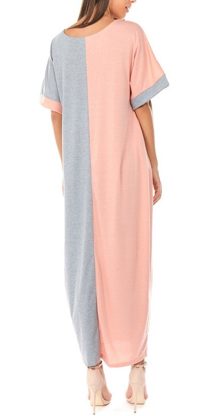 Color Block Maxi
