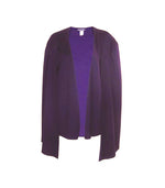 Plum Cape Blazer
