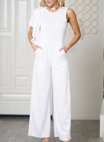 High-Waist Jumpsuit