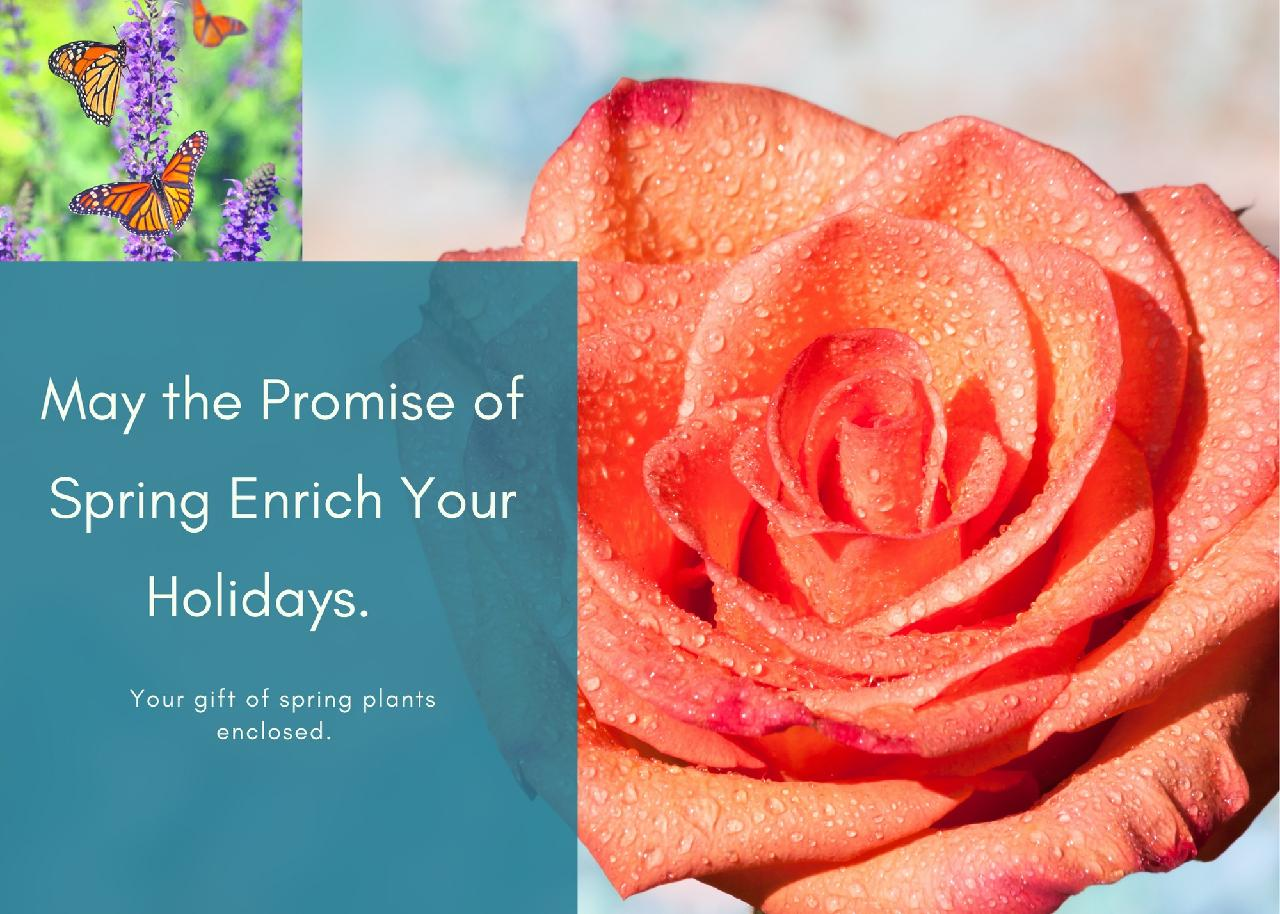 The Promise of Spring - A Digital Gift Card for Outside.com