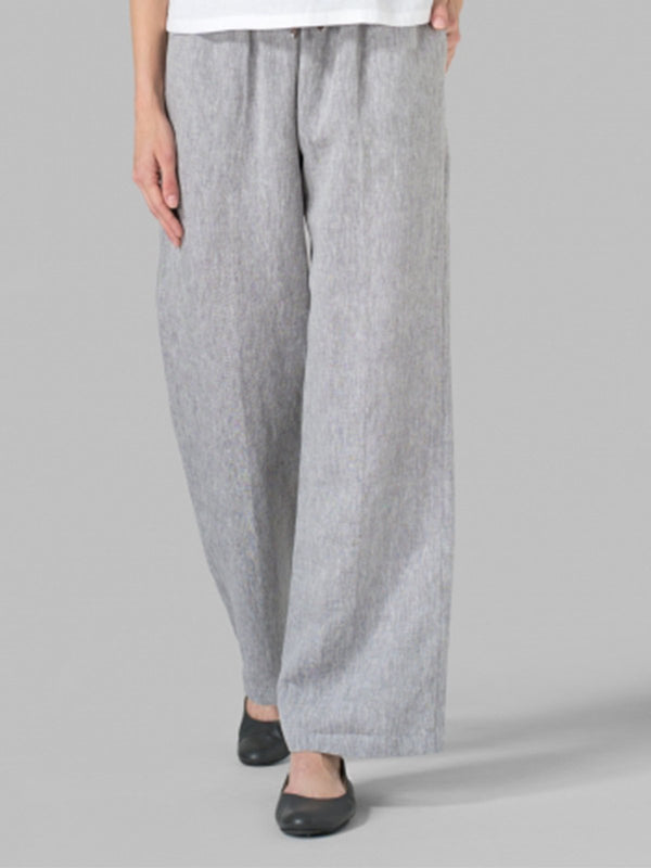 Linen Pockets Pants