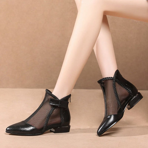 Daily Chunky Heel Paneled Casual Shoes