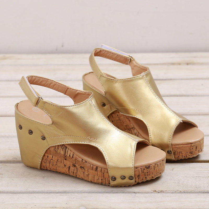 Women's Casual Plus Size  Wedge Sandals