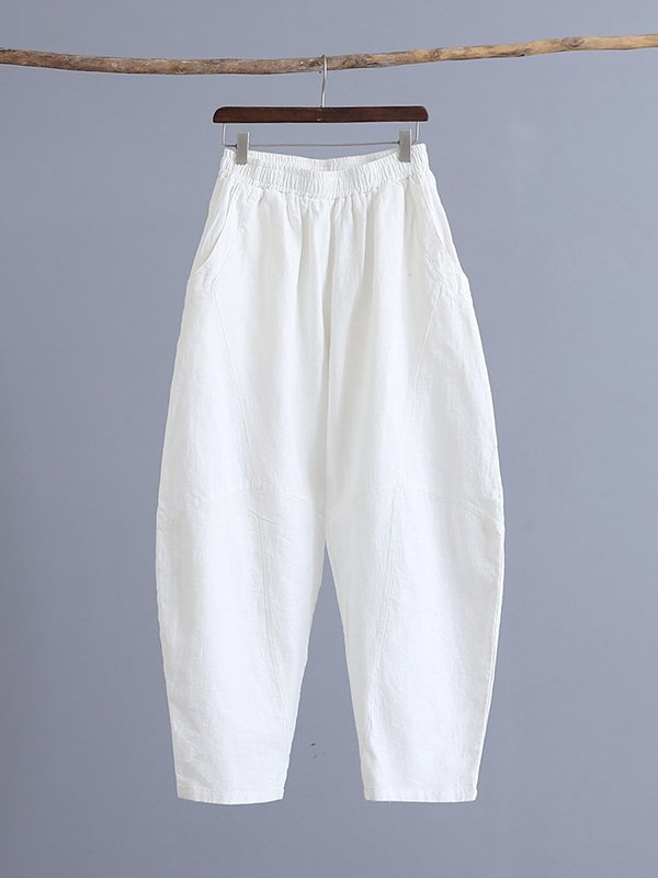 Swing Ramie Casual Pants