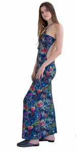 Graffiti Long Maxi Dress