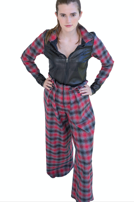 Plaid Back Suit