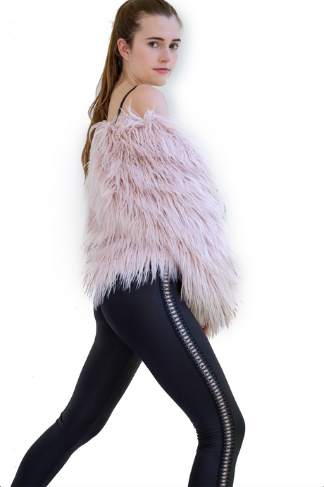 Pink Dreams Faux Fur