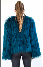 Load image into Gallery viewer, Green with envy Faux Fur