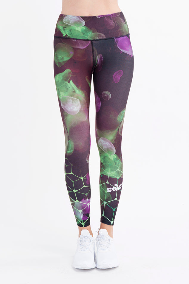 Neon Sea Leggings