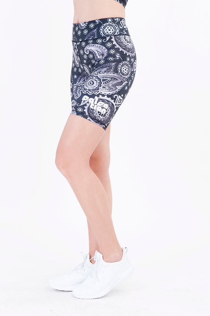 COMING SOON Paisley Short Leggings