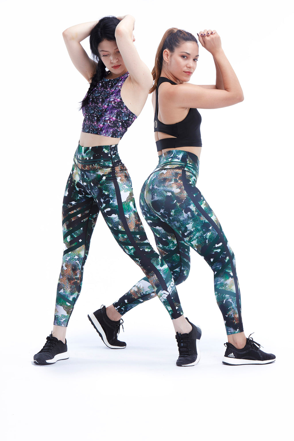 Be Strong Leggings - Green