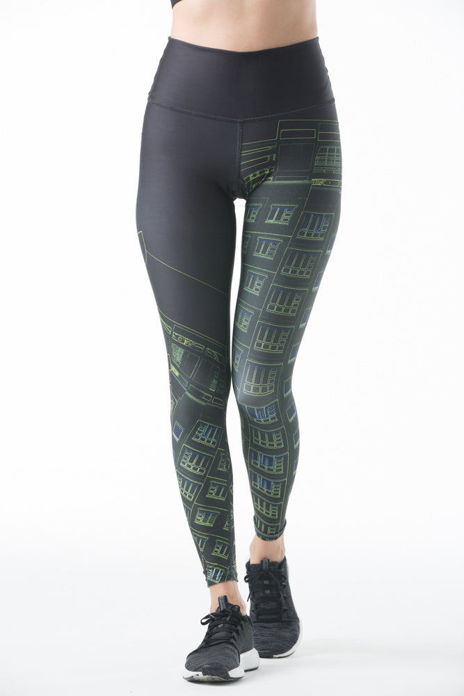 Cityscape Leggings
