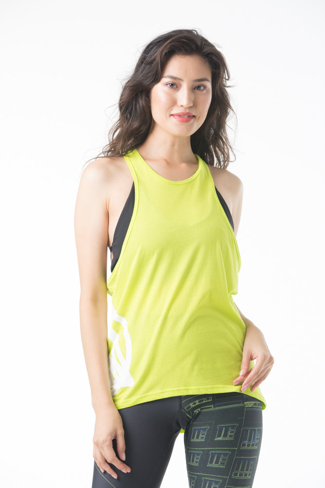 Strike a Pose Tank - Yellow