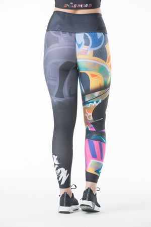 Street Art Leggings