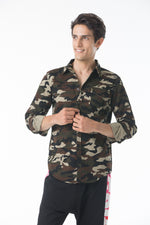 Camo Button Down Shirt