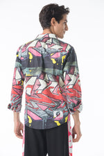 Graffiti Button Down Shirt