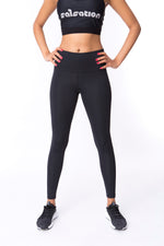 Blazin Black Leggings
