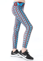 Logomania Azure Girl Leggings