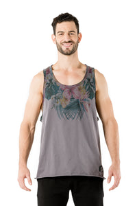 Tropical Tank - Grey