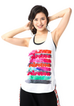 Painted Logo Women's Tank