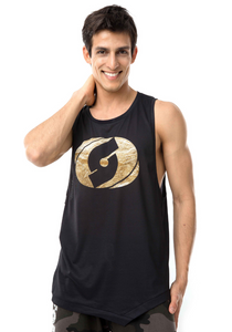Black Gold Muscle Tank
