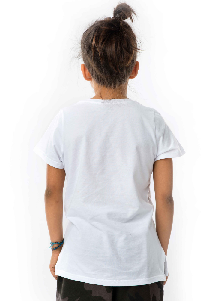 Twinkle Double Icon T-Shirt - white