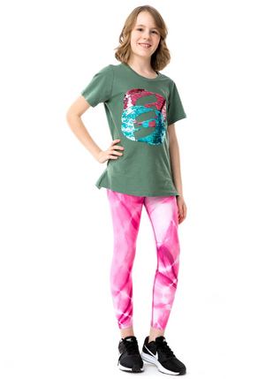 Twinkle Double Icon T-Shirt - green