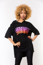 CHOREOLOGY Graffiti Hoodie - Black/Multi