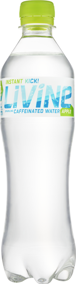 Instant Kick Levine Caffeinated - Apple 500ml | offer 2 for £1