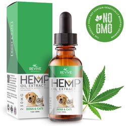 Revive Naturals Organic Hemp Oil Extract - 30ml