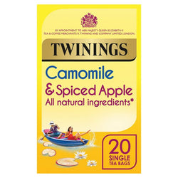 Twinings Camomile And Spiced Apple 20 Teabags