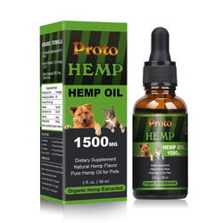 Broad Spectrum Hemp oil for Pets 1500mg