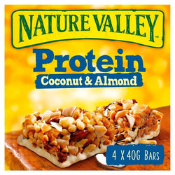 Nature Valley Protein Coconut & Almond Cereal Bars 4 x 40g