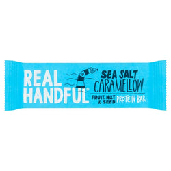 Real Handful Sea Salt Caramellow Protein Trail Bar 40g | 3 for £1