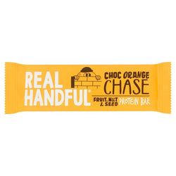 Real Handful Choc Orange Chase Protein Trail Bar 40g | 3 for £1