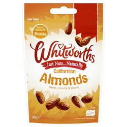 Whitworths Almonds 80g | offer 2 for £1