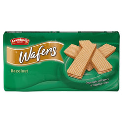 Case of 12 Packs of Crawfords Hazelnut Wafers 220g