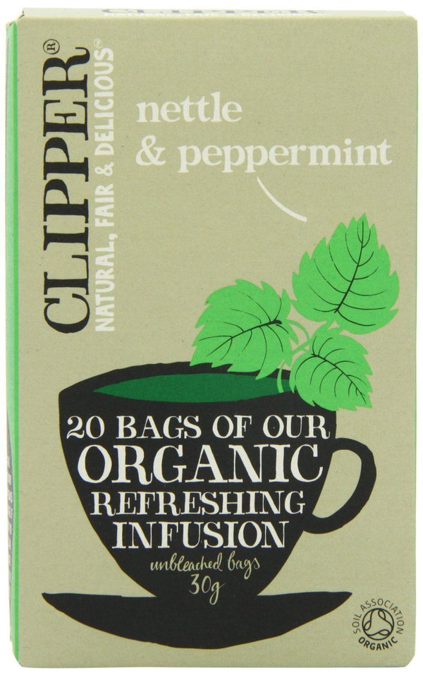 Clipper 20 Organic Nettle and Peppermint 30g