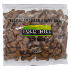 Fold Hill Beef Flavoured Gravy Bones for Dogs 500g