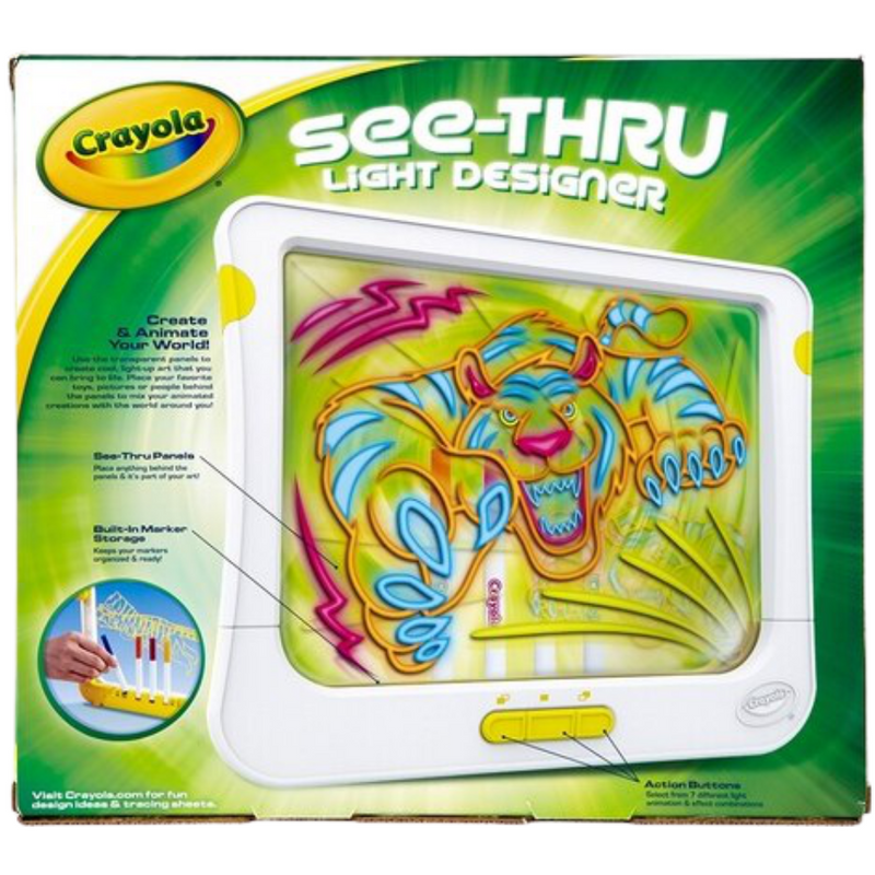 Crayola See Thru Light Designer Arts & Crafts