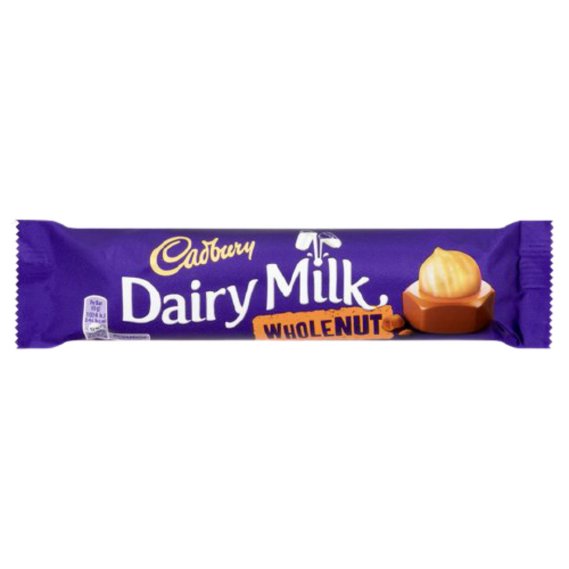 Cadbury Dairy Milk Wholenut Chocolate Bar 45g