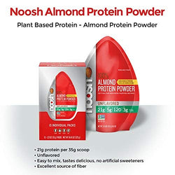 Noosh Almond Protein Powder 35g | Offer 2 For £1