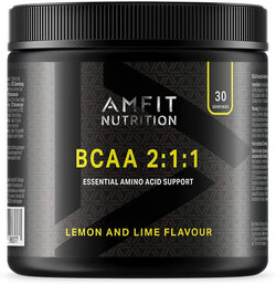 Amfit Nutrition - BCAA 2:1:1 - Lemon & Lime Flavour 300g , 30 servings
