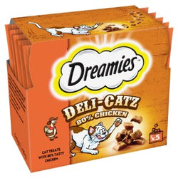 Dreamies Deli-Catz Chicken Treats 25g | 3 for £1
