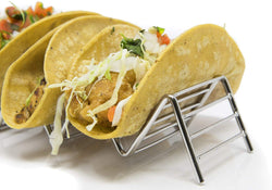 Stylish Stainless Steel Taco Holder Stand | 50% Offer Now only £1.50