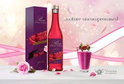 Rose Syrup Natural 440ml by Yandra