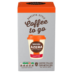 NESCAFÉ AZERA Coffee To Go Latte 2 Cups