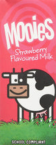 Mooies Strawberry Flavoured Milk 200ml | 3 for £1