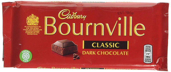 BOURNVILLE CLASSIC DARK CHOCOLATE 100G