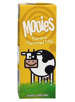 Mooies Banana Flavoured Milk 200ml | Offer 3 for £1